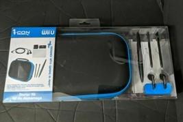 STARTER KIT - Carry Case stylus screen protector cloth NINTENDO WII U - ... - $21.75
