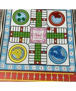 Vintage 1980s Board Game Whitman Pachisi Get the Bone Stock Car Race and... - $19.98