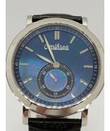 $469 MSRP Omikron Harrier Vintage Style Men's Watch Blue Made in  Switze... - $179.10
