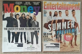 Lot 2 Queer Eye: Money August 2018 & Entertainment Weekly June 2018 - $8.45