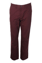 Tommy Hilfiger Men's Wine Straight Fit Chino Pants Size 36 - $29.69