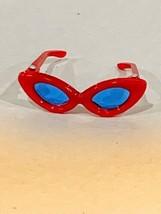 Vintage Barbie Open Road Red Rimmed Blue Lensed Sunglasses #985 EUC - $35.00