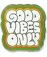 Good Vibes Only - Hard Enamel Pin (Cloisonne Pin) [Hardcover] Inc. Peter... - $9.99