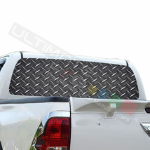 Sticker Bomb Skin Window See Thru Stickers Perforated for Toyota Hilux 2016 - $59.80