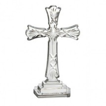 """Waterford Crystal Standing Cross Spirituality Cross 8"""" Religious Baptism New - $125.38"""