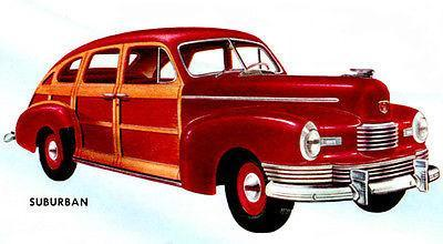 Primary image for 1946 Nash Suburban - Promotional Advertising Poster
