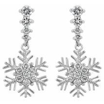Snowflake Drop Earrings - $21.00