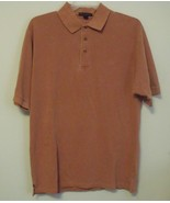 Mens Port Authority NWOT Burnt Orange Short Sleeve Polo Shirt Size Large - $15.95