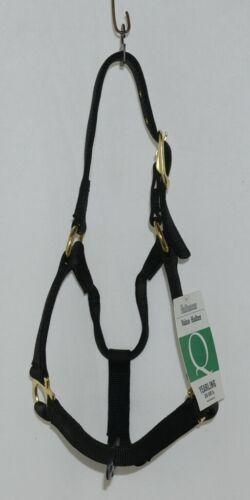 Valhoma 350QBK Black Yearling Horse Halter Three to Six Hundred Pounds