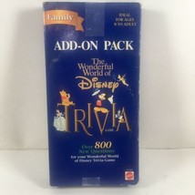 Disney Trivia Game Add-On Pack 8 To Adult Over 800 Questions EUC - $15.87