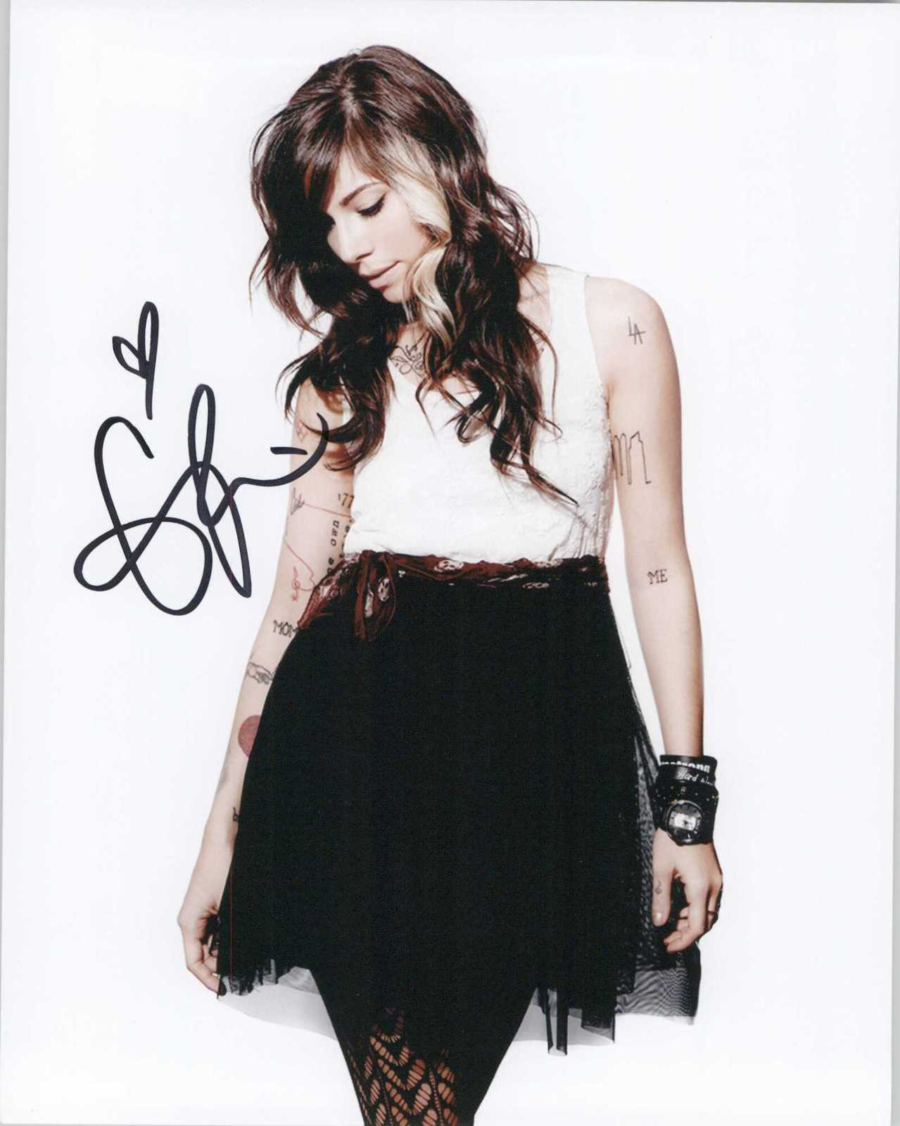 Primary image for Christina Perri Signed Autographed Glossy 8x10 Photo