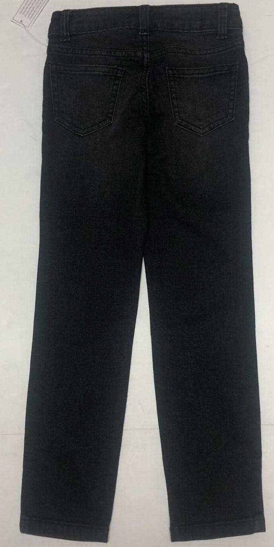 Wonder Nation Boy's Jeans Skinny Adj Waist Black Kid's Sz 6 image 5