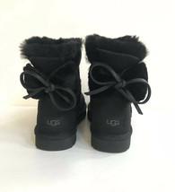 Ugg Classic Double Bow Mini Black Water Resistant Boot Us 9 / Eu 40 / Uk 7 - $126.23