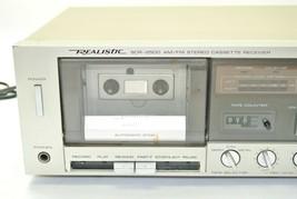 Realistic Radio Shack SCR-2500 AM/FM Stereo Cassette Recorder Receiver - $67.99