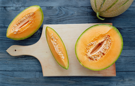 Melon Seeds - Cantaloupe - Imperial 45 - Outdoor Living -  Free Shipping - $29.99+