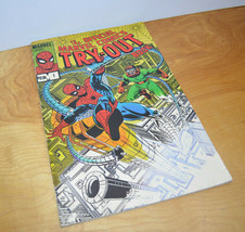 Vintage MARVEL COMICS TRY-OUT BOOK Oversized Comic Book Spider-Man 1983 ... - $40.15