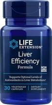 Life Extension Liver Efficiency Formula 30 Vegetarian Capsules - $15.41