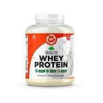 Grass Fed Whey Protein - 100% Pure, Natural & Raw – 24g High Protein - 5lb/75 Se - $86.56