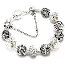 Dropshipping AAA Zircon Charm Bracelet for Women Fit Brand Bracelet Jewe... - $2.99+