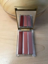 Estee Lauder Lipstick 122 Sangria, 301 Crystal Baby & BlushLights 02 Pin... - $35.63