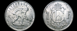 1952 Luxembourg 1 Franc World Coin - $5.99