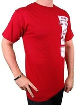 NEW NWT LEVI'S MEN'S PREMIUM CLASSIC GRAPHIC COTTON T-SHIRT SHIRT TEE RED image 2