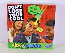 2017 Hasbro Don't Lose Your Cool Kids Vs Parents Family Game NIB - $19.57