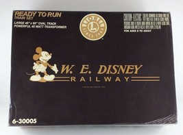 Lionel 6-30005 W.E. Disney Railway Train Set Limited Edition O27 Gauge NEW - $742.49