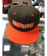 NWOT Vintage Cleveland Browns New Era 100% Wool Hat Cap Size 7 New Witho... - $59.39