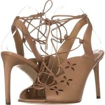 MICHAEL Michael Kors Thalia Sandal Lace Up Sandals 805, Toffee, 9 US / 4... - $47.99