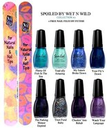 WET N WILD Spoiled Nail Color COLLECTION #7 OF 8 Shades Plus 2 Free Nail... - $19.59