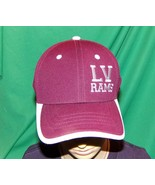 LV Rams Hat, Ligonier Valley High School PA, Embroidered baseball cap Lo... - $9.85