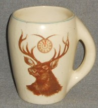 Early 1900s ROSEVILLE POTTERY Beer Stein ELKS CLUB Made in USA - $39.59