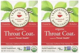 Traditional Medicinals Throat Coat 16 Ct (2 Pack) Pack - 2 - $12.75