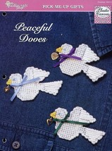 Peaceful Doves Plastic Canvas PATTERN/INSTRUCTIONS/NEW Magnet, Decor - $0.90