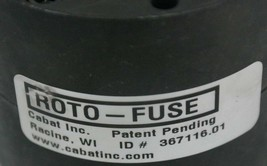 NEW CABAT ROTO-FUSE 367116.01 CLUTCH 36711601 image 2