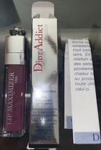 Christian Dior Addict Lip Maximizer Lip Plumper 006 Berry 0.20oz / 6ml New +GIFT - $29.69