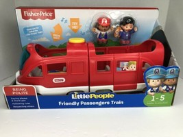 Fisher-Price Little People Friendly Passengers Train Ages 1-5 New Free Shipping - $29.99