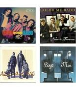 Lot of 4 CDs Color Me Badd All 4 One Boyz II Men - No Cases - $1.99