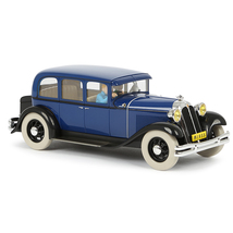 The Car Bound For Nanking 1/24 Voiture Tintin Cars New 2019 The Blue Lotus