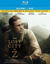 The Lost City of Z [2017, Blu-ray + DVD] New
