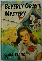 Beverly Gray's Mystery hc College Mystery Clover Books G18 Clair Blank - $8.00