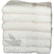 24 PACK WHITE PREMIUM COTTON HOTEL HAND TOWEL PLUSH 16X30 4.5# DOZEN PEG... - $69.50