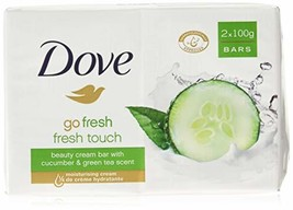 Dove Go Fresh Beauty Bar Soap, Cool Moisture-Fresh Touch, 100 G / 3.5 Oz... - $16.90