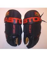 EASTON Flex Grip SHG27 Hockey Gloves Black  Vintage 90's ( Rare ) - $98.99