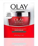 OLAY Regenerist Micro-Sculpting Cream, FRAGRANCE FREE, Moisturizer 1.7 o... - $18.46