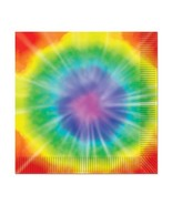 Tie-Dyed Luncheon Napkins 2-Ply    16/Pkg - $3.96