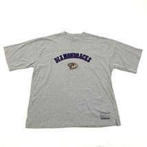 Vintage Lee Sport Diamondbacks T Shirt Taille 2XL XXL Hommes 3D Sort Out - $28.29