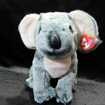 TY Original Beanie Buddy Eucalyptus Koala Grey Plush Soft MWMT Tag Protector - $19.99