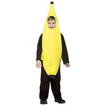 Yellow Banana Comical Child Halloween Costume Unisex Child Size Small 4-6X - £21.48 GBP